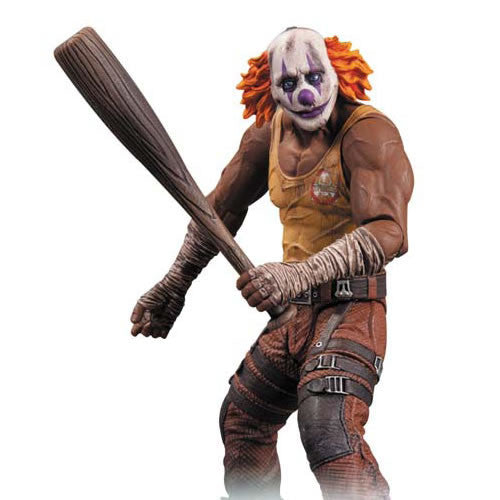 Dc Collectibles DC308388 Batman Arkham City Figures Series 3 - Clown Thug w/ Bat Figure