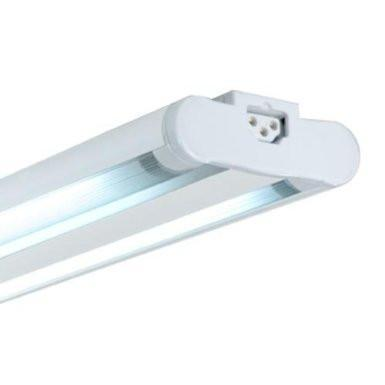 Jesco Lighting SG5AT-28/64-WH 3-Wire Grounded; Twin Adjustable T5 Sleek Plus-Fluorescent Undercabinet Fixture - Peazz.com
