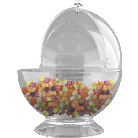 Trademark Commerce 82-Y3459 Sweets & Treats Bowl with Lid by Chef BuddyT - Peazz.com