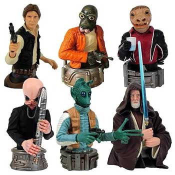 Gentle Giant Studios GG000807 Star Wars Bust-Ups Series 6 - Mos Eisley Cantina (display of 16)
