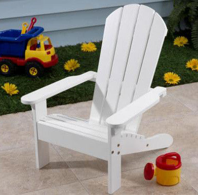 KidKraft 81 Adirondack Chair White - Peazz.com