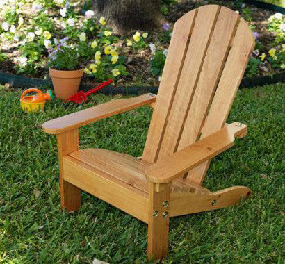 KidKraft 83 Adirondack Chair Honey - Peazz.com