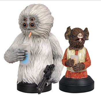 Gentle Giant Studios GG008223 Star Wars Mini Bust - Kabe and Muftak 2-Pack