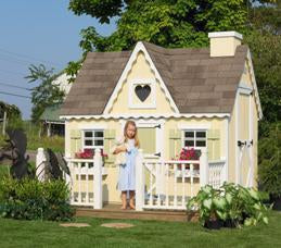 6 x 8 Victorian Playhouse - Panelized Kit - Peazz.com