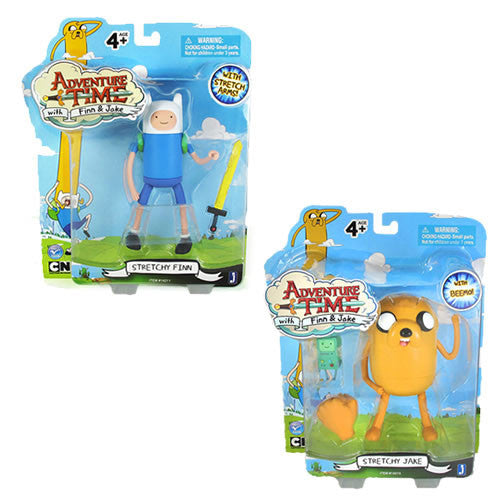 "Jazwares JW142102 Adventure Time - 5"" Finn and Jake Figures Set"