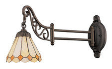 Landmark 079-TB-05 Mix-N-Match One Light Swingarm Sconce in Tiffany Bronze - Peazz.com