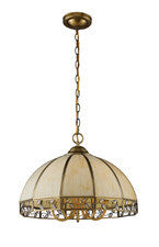 Landmark Lighting 72051-5 Gerard Five Light Chandelier in Solid Brushed Brass - Peazz.com