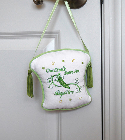 Lillian Rose 24AC800 SW Sweet Pea - Door Hanger - Peazz.com