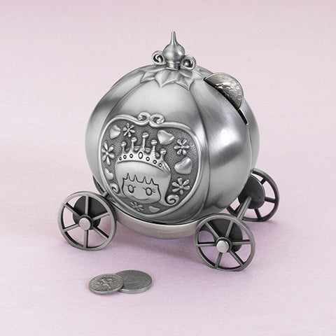 Lillian Rose 24BK720 C Fairytale Coach Pewter Bank - Peazz.com