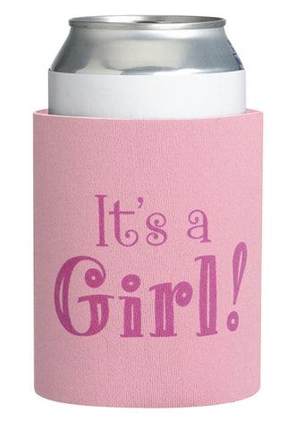 Lillian Rose 24CC100 G It's a Girl Cup Cozy - Peazz.com