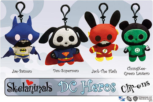 Toynami TN008451 Skelanimals DC Clip-Ons - Jae as Batman