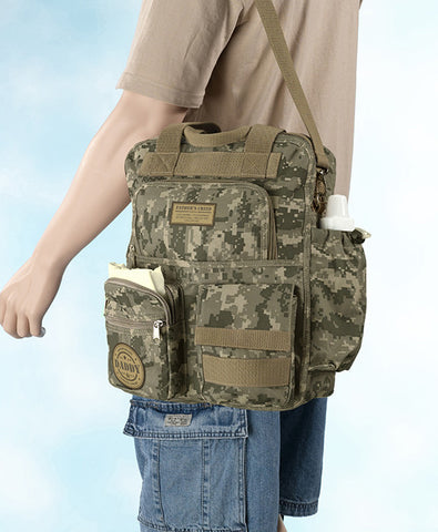Lillian Rose 24DB420 Daddy Military Diaper Bag - Peazz.com