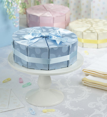 Lillian Rose 24FA110 B Set/10 Baby Cakes Favors-Blue - Peazz.com