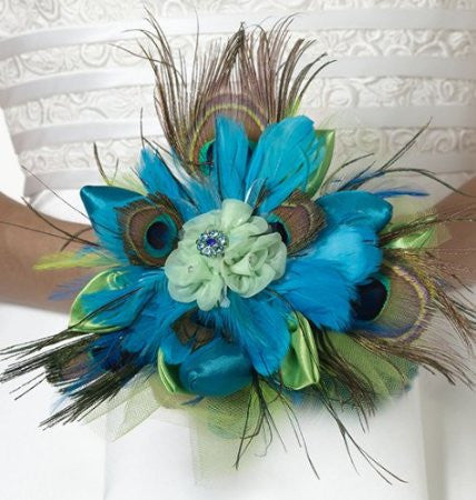 Lillian Rose BQ234 Peacock Bouquet LRO-BQ234