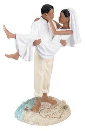 Lillian Rose F983 A Beach Wedding.Figurine-Afrn/Amr LRO-F983-A