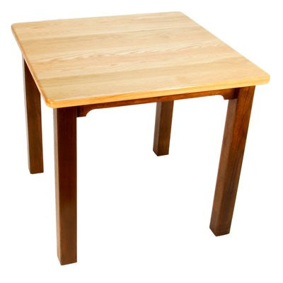 "Bradley Brand Furniture 3017 RM Gathering Table- Butcher Block Top 42"" - Peazz.com - 1"
