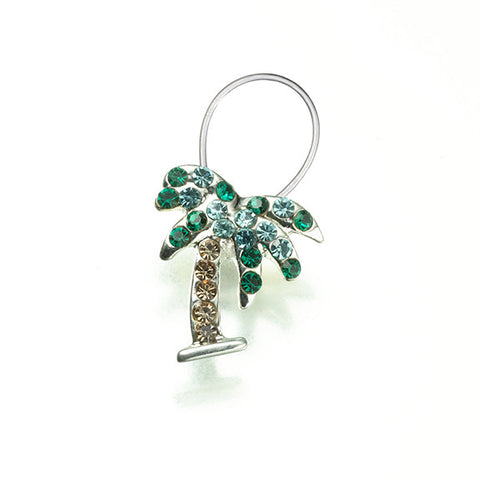 Lillian Rose JL400 1 Palm Tree Toe Ring - Peazz.com