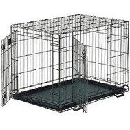 Life Stages Double Door Dog Crate 48 X 30 X 33 - Peazz.com