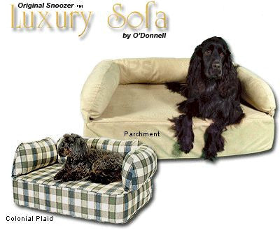 Luxury Pet Sofa Dog Bed by Snoozer Pet Beds - Peazz.com