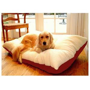 Majestic Pet Extra Large 42x60 Rectangle Pet Bed - Red - Peazz.com