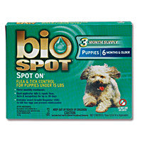 Bio Spot Spot On F/T Puppies Under 15 lbs 3 Month - Peazz.com