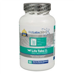 Life Tabs Daily MultiVitamin For Dogs, 60 Tablets - Peazz.com