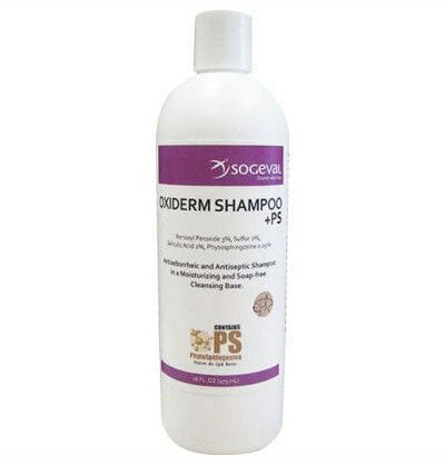 Oxiderm +PS Shampoo, 8 oz. - Peazz.com