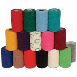 "PowerFlex Bandage 4""x 5yds, Light Blue - Peazz.com"