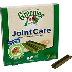 Greenies JointCare Canine Treats - Small-Medium, 7 Count - Peazz.com