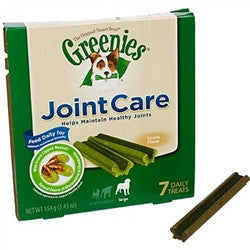 Greenies JointCare Canine Treats - Large, 7 Count - Peazz.com