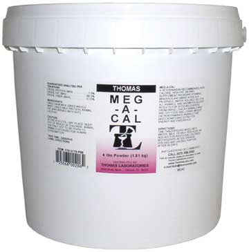Meg-A-Cal Powder, 4 lb. - Peazz.com