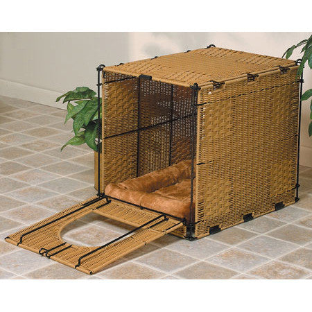 Wicker Cat Litter Box Cover - Peazz.com