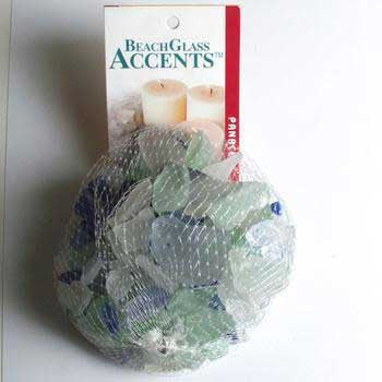 2 Quantity of Beach Glass 1lb Bag Green/ice Blue Asst - Peazz.com
