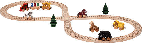 Maple Landmark 11235 NameTrain Safari Train Set