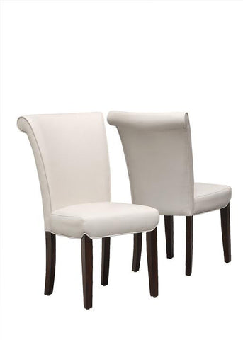 "Monarch Specialties I 1666TP Taupe Leather-Look 39""H Side Chair / 2Pcs Per Carton - Peazz.com"