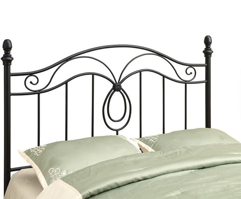Monarch Specialties I 2622Q Black Queen / Full Size Combo Headboard Or Footboard Only - Peazz.com