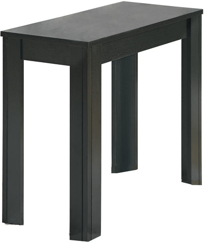 Monarch Specialties I 3110 Black Oak Accent Side Table - Peazz.com