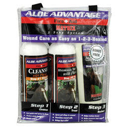 Equine First Aid 3 Step Wound Care System - Peazz.com