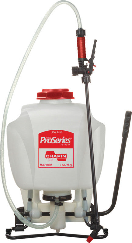 Pro Series Backpack Sprayer Red 4 Gallon (61800)