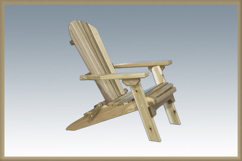 Montana Woodworks MWAC Chair, Adirondack Ready To Finish - Peazz.com