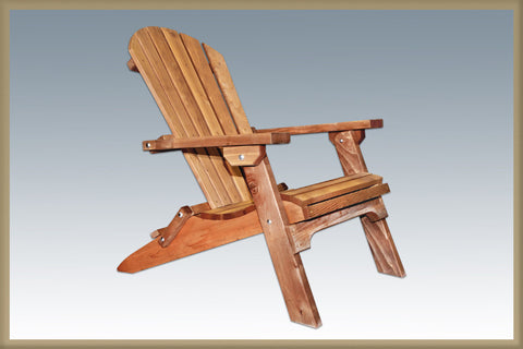 Montana Woodworks MWACV Chair, Adirondack Exterior Finish - Peazz.com