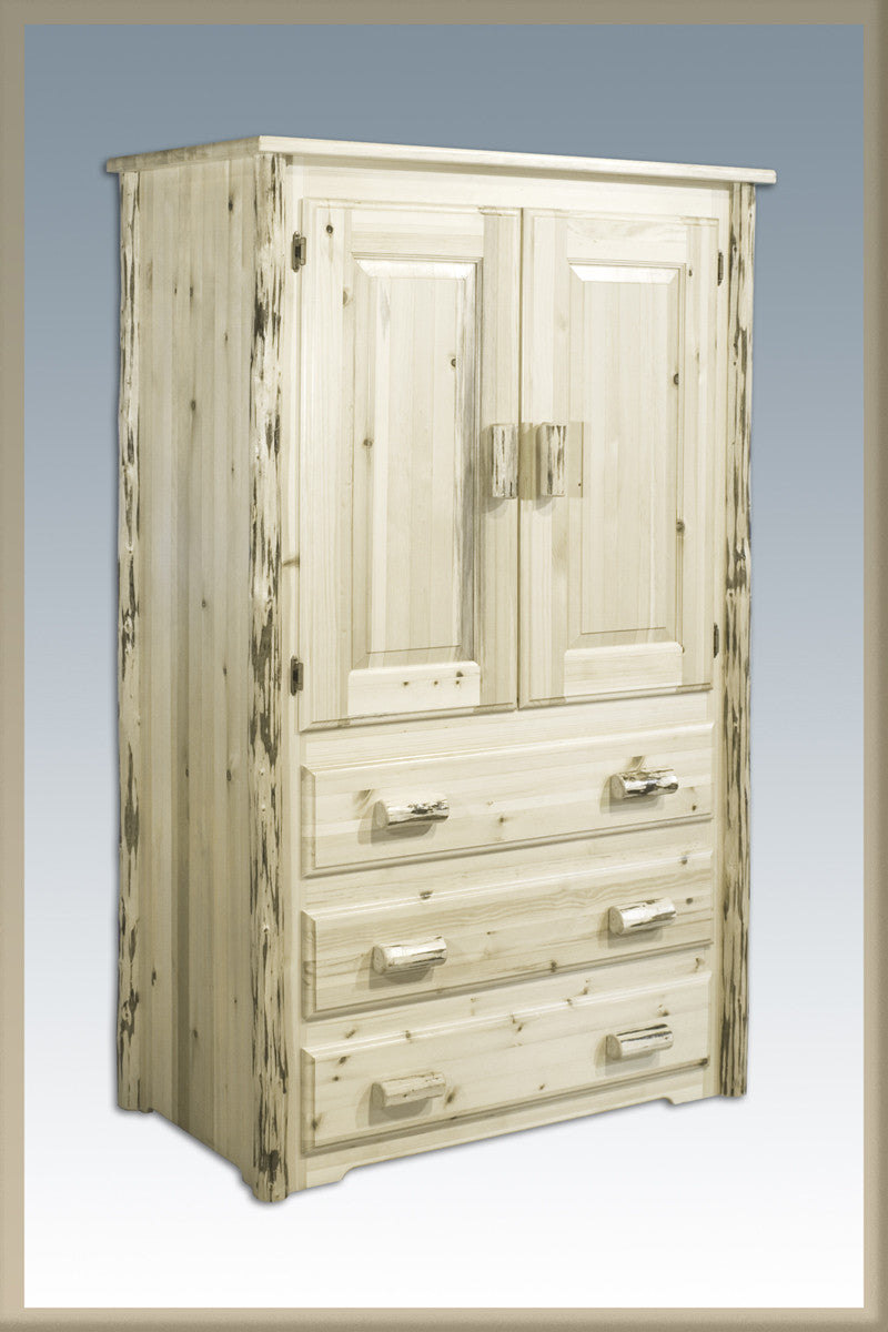 Montana Woodworks MWAR Armoire Ready To Finish