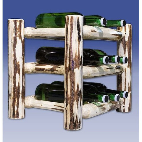 Montana Woodworks MWWRCV Countertop Wine Rack Lacquered - Peazz.com