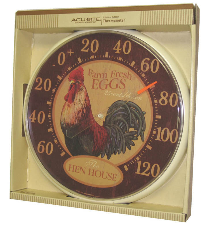 Thermometer Hen House 12.5 Inch (1881)