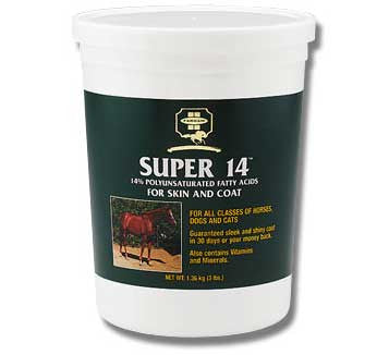 Super 14 Equine Skin & Coat Supplement 3 Lbs (32304) - Peazz.com