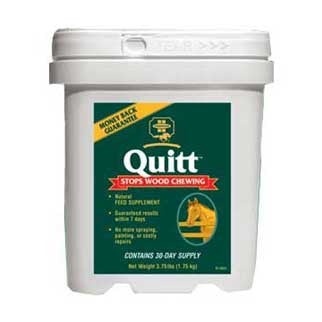 Quitt - Supplement to Eliminate Wood Chewing 3.75 Lbs (3003764) - Peazz.com