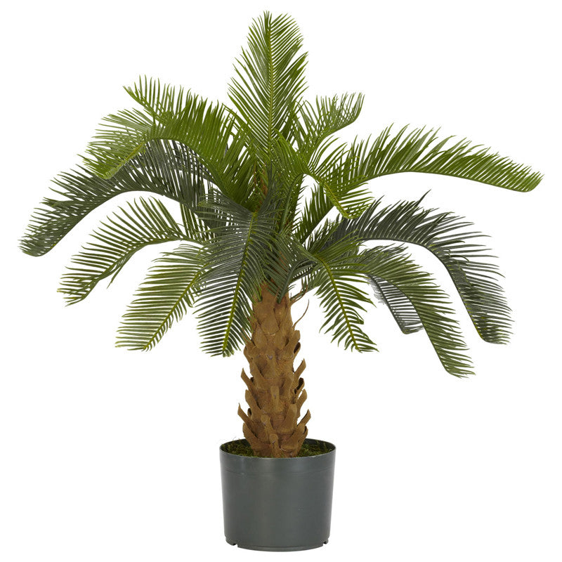 Nearly Natural 6099 Cycas Silk Plant