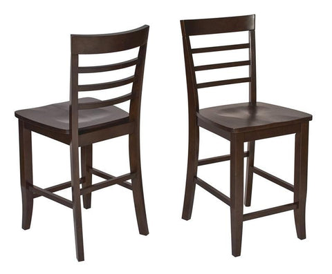 Office Star OSP Designs JT424 Jamestown 2pk Barstools - BarstoolDirect.com
