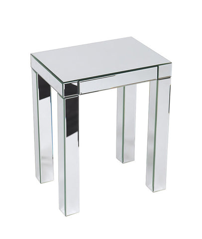 Office Star Ave Six REF17-SLV Reflections Accent Table - Peazz.com