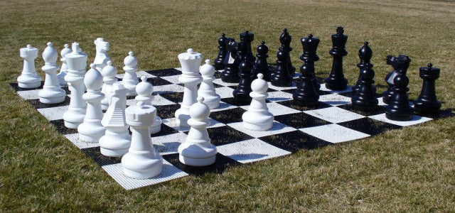 "Outdoor Chess Set With 25"" King Gc25-15"